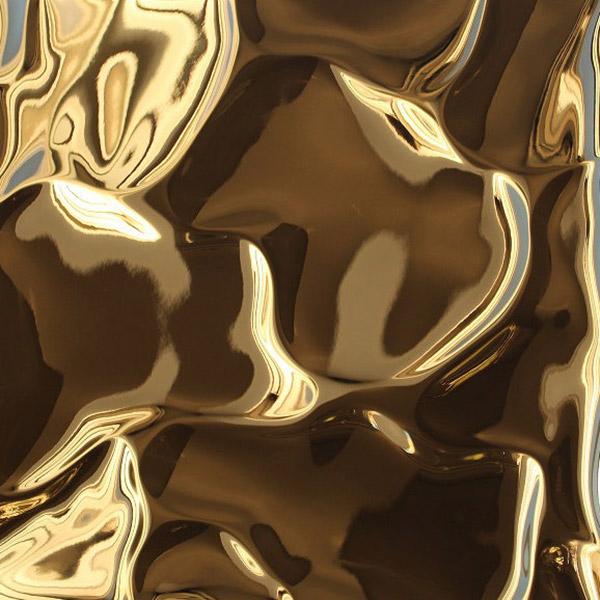 ミステリアスステンレスゴールドリップルス -mysterious stainless gold riples-