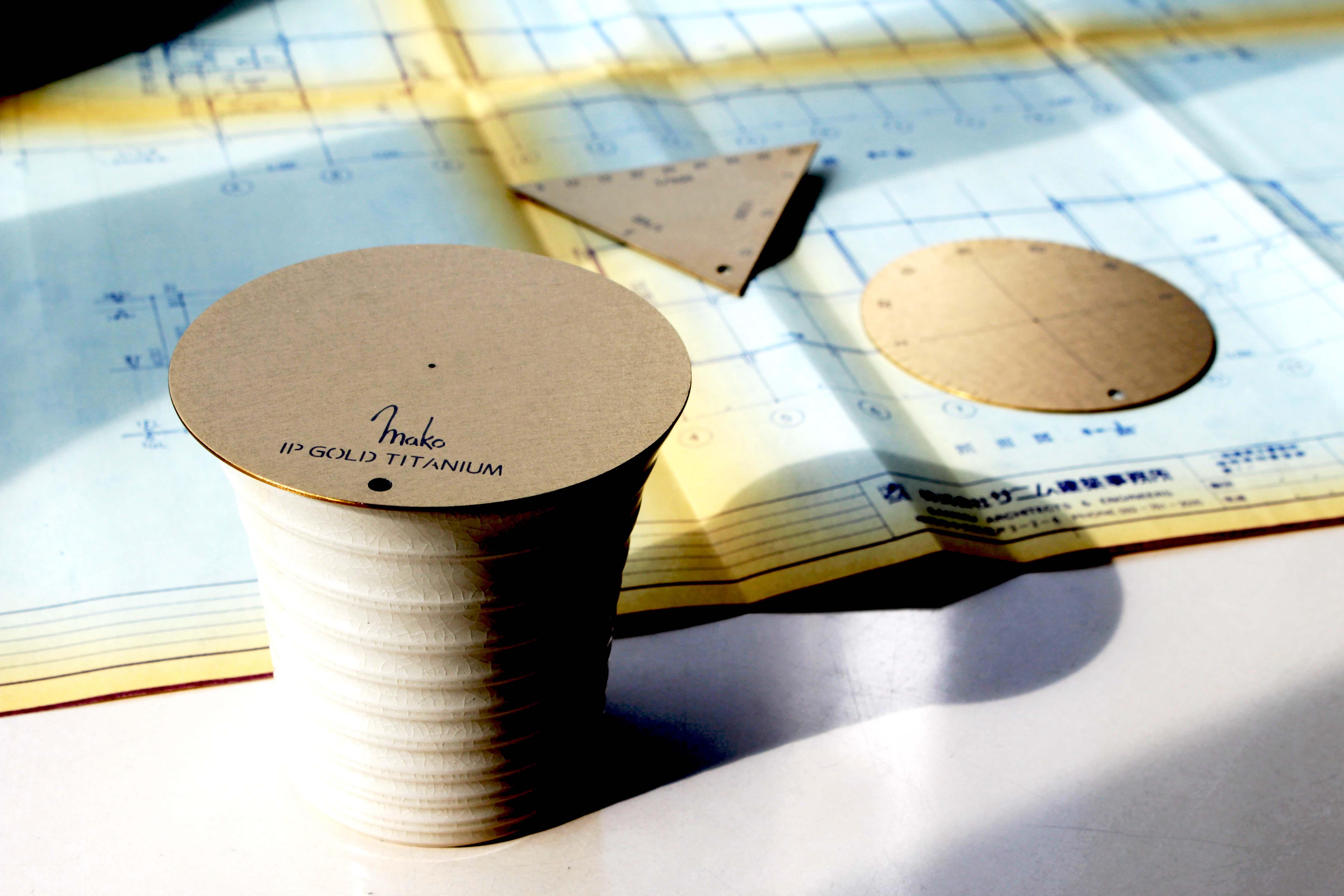 黄金のチタン分度器・三角スケール