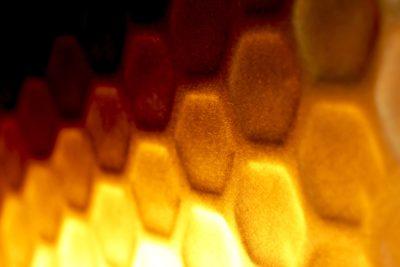 3Dチタン ゴールドヘキサゴンチタン
