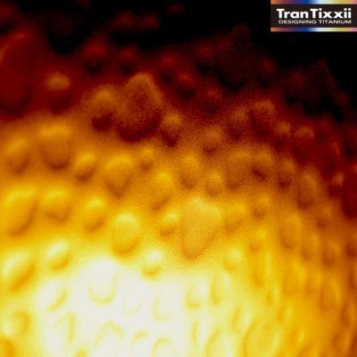 3Dチタン ゴールドクレーターチタン