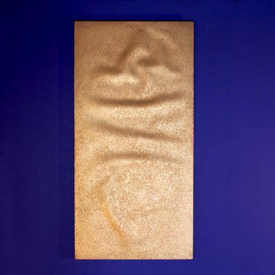 【純チタン_長方形】時を刻む黄金の金属絨毯