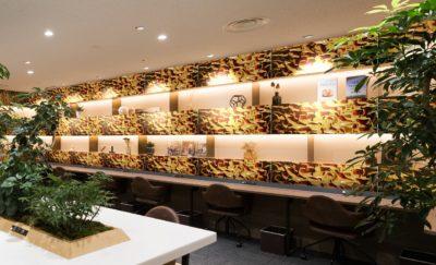 ゴールドリップルスのカフェ