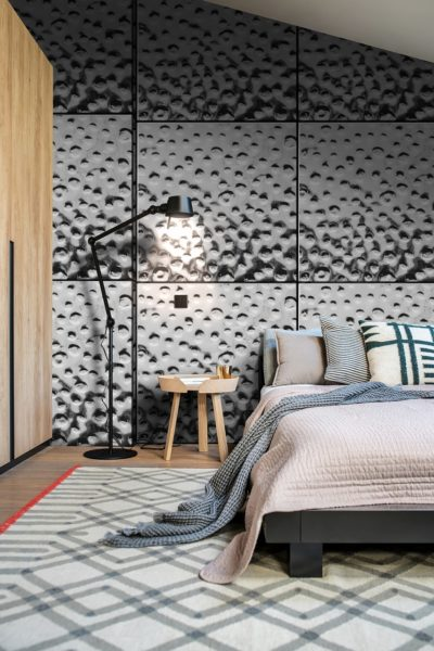 ウォータードロップの寝室